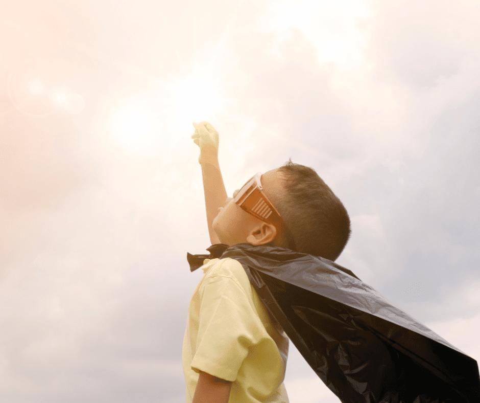 Quando un bambino diventa coraggioso?